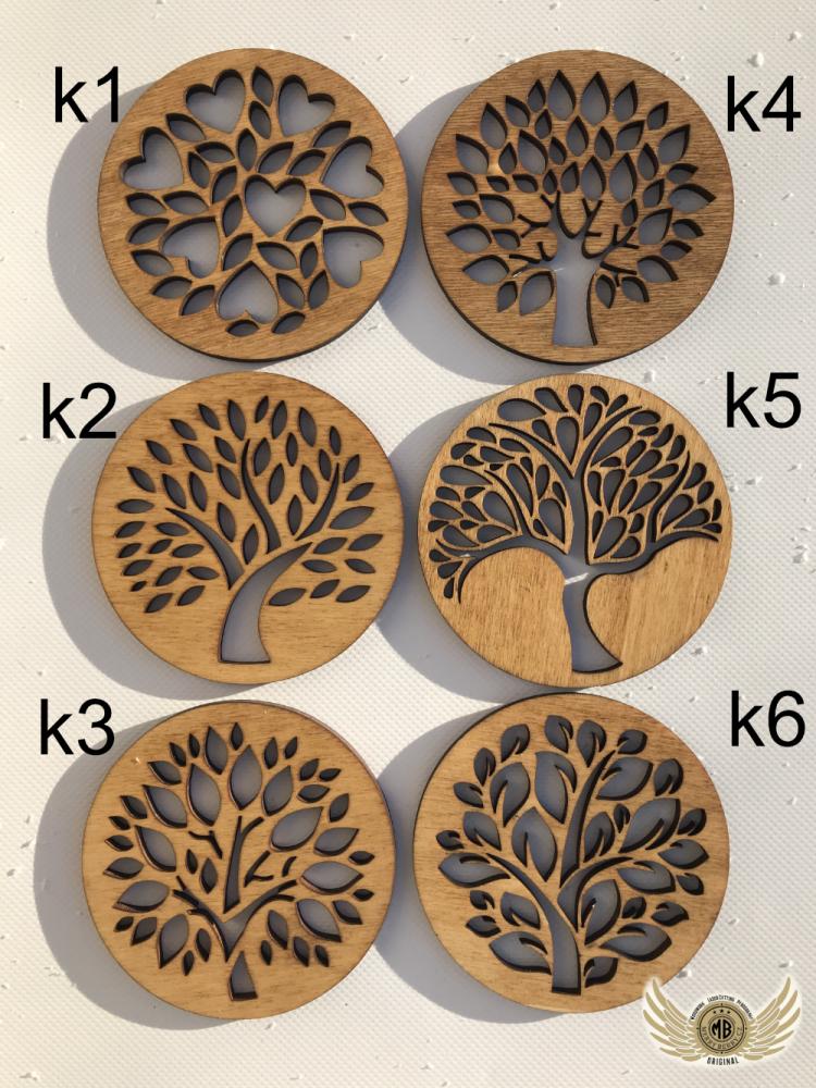 Podtácek stromy
