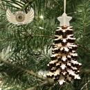 Stromeček s hvězdou - sada 3ks