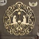 Betlém - závěsná dekorace