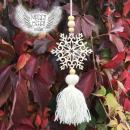Vánoční ozdoba se střapcem