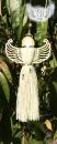 andělka s vyřezávanými křídly